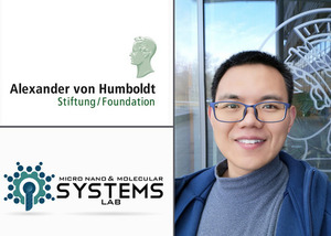Xiaolong Lu receives Humboldt Research Fellowship