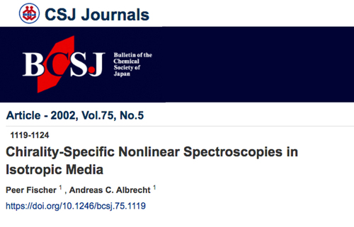 Chirality-specific nonlinear spectroscopies in isotropic media