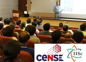 Peer Fischer delivers Distinguished Lecture at CeNSE