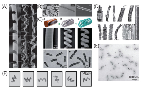 Nanohelices by shadow growth